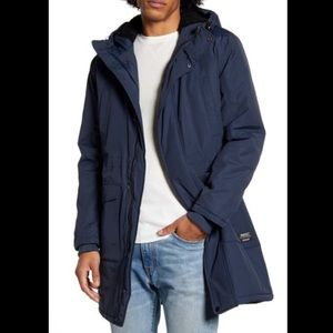 WeSC NWT Sherpa-lined Winter Parka Blueberry Small